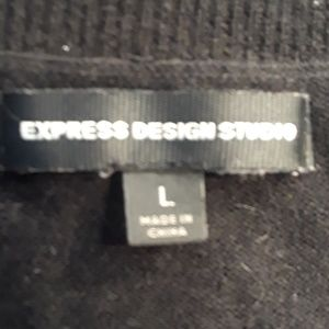 Express Sweaters - Express Knit Vest, Large